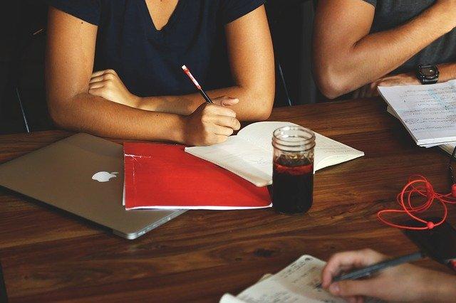 zapisování nápadů