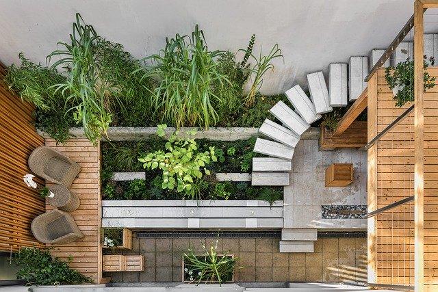 terasa se dřevem