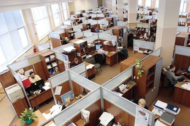 Open-space kancelář