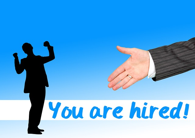 přijetí do zaměstnání