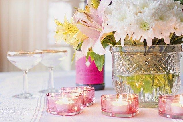 Zátiší se svíčkami