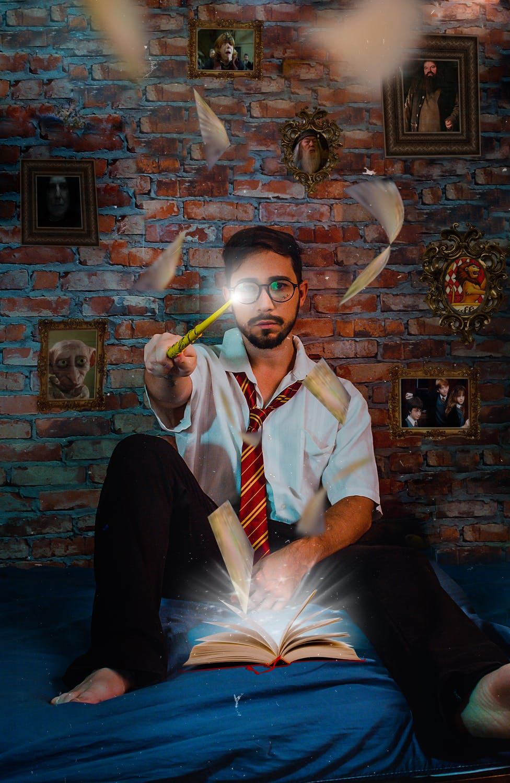 mladý kouzelník